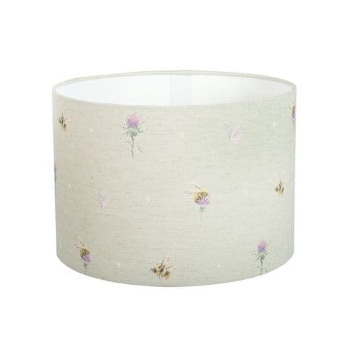 Small 'Bees & Butterflies' Lampshade