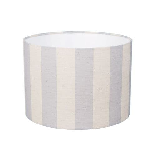 Small 'Skylarks Song' Striped Lampshade