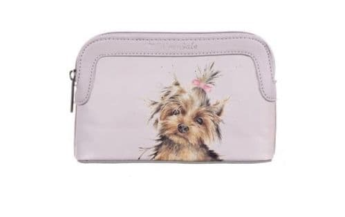 Small 'Woof' Dog Cosmetic Bag