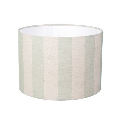 Small 'Wrendale Green' Striped Lampshade