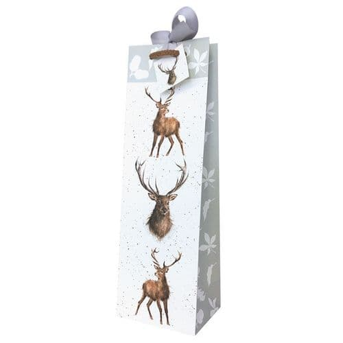 Stag Bottle Gift Bag - GB009