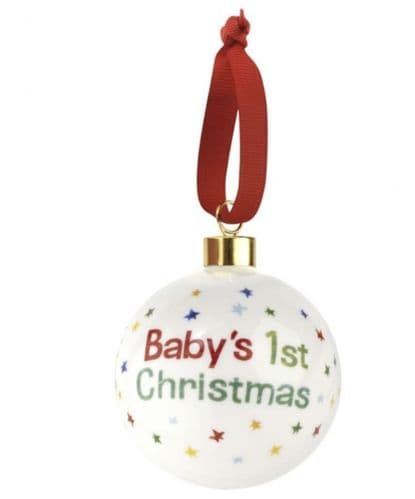 The Very Hungry Caterpillar Baby 1st Christmas Bauble
