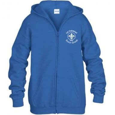 1st Halstead Scouts Zip Hoodie - Adult & Childs