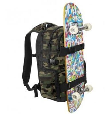 Old School Boardpack Skateboard Backpack Rucksack Bag