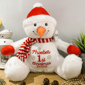 Personalised 1st Christmas Snowman