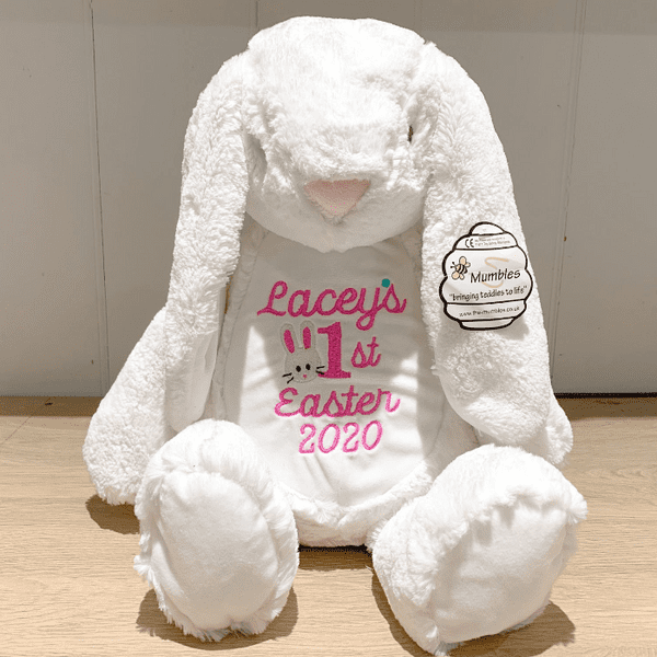 Personalised 1st Easter 2021 Bunny Rabbit