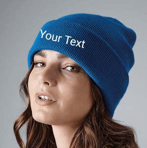 Personalised Adult Original Cuffed Beanie