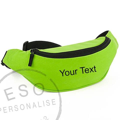Personalised Belt Bag/ Bum Bag