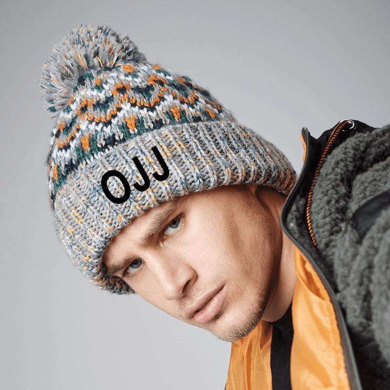 Personalised Blizzard Bobble Beanie