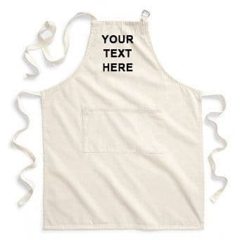 Personalised Fairtrade Adult Craft Apron