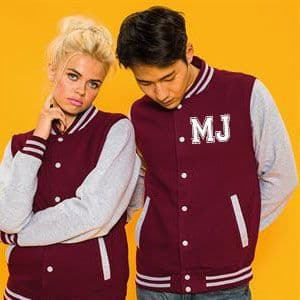 Personalised INITIALS VARSITY Jacket
