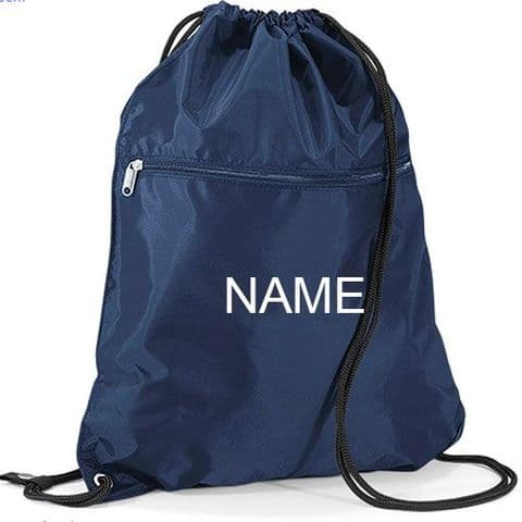 Personalised Premium Drawstring Gymsac Bag