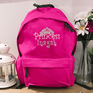 Personalised Princess Backpack