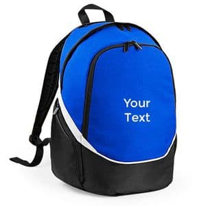 Personalised Pro-Team Backpack Bag