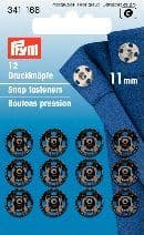 341166 Snap Fasteners - Bx 5