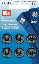 341169 Snap Fasteners - Bx 5