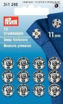 341246 Snap Fasteners - Bx 5