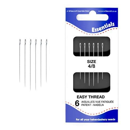 70191 - Essentials Easy Thread Hand Sewing Needles