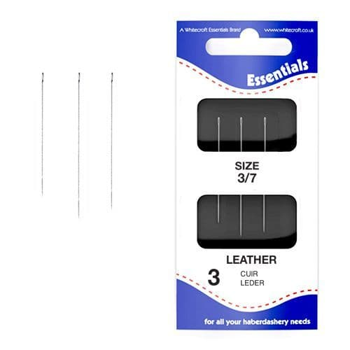 70221 - Essentials 3/7's Assorted Leather Point Hand Sewing Needles