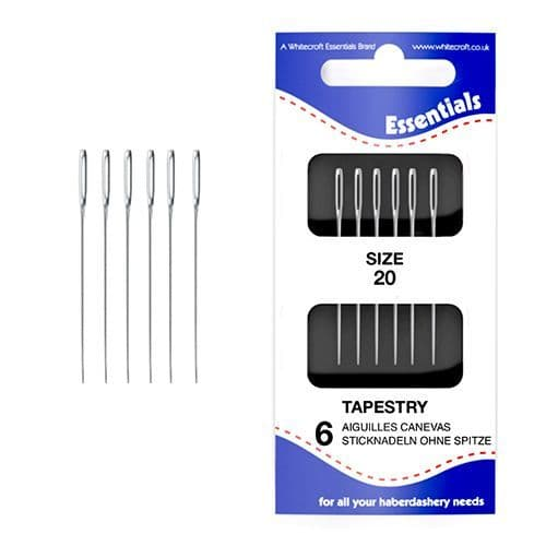70241 - Essentials Size 20 Tapestry Hand Sewing Needles