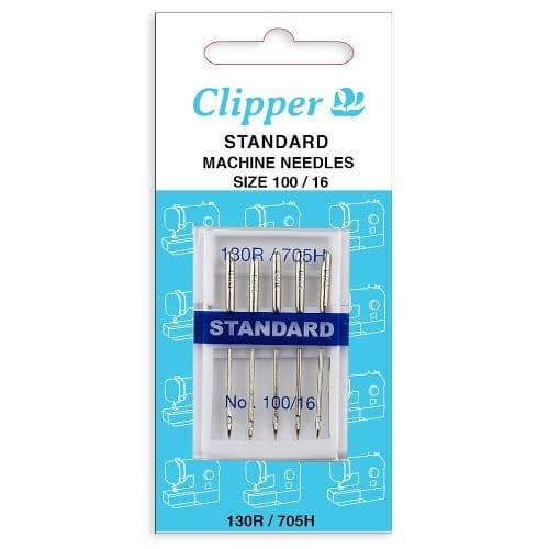 75211 - Clipper Machine Needle Carded Standard – Size 100 / 16