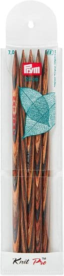 Prym KnitPro Double Pointed Knit Pins Natural 20cm
