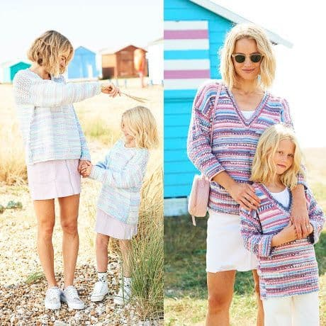 You and Me Pattern 9823 Sweaters