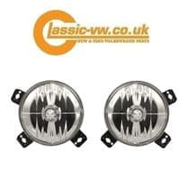 Crystal Clear Grille Spotlight (JOM) Mk1 Cabriolet & Mk2 Golf