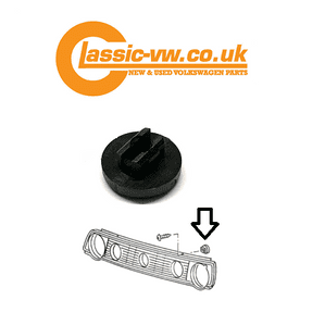 Mk2 Golf Grille Securing Clip (Screw Fixing) 871853393 Jetta, Polo