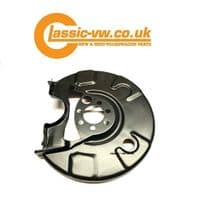 Rear Disc Brake Dust Shield Left 191615611D (With ABS) Mk1 Golf Mk2 Golf Scirocco