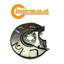 Rear Disc Brake Dust Shield Right 191615612D (With ABS) Mk1 Golf Mk2 Golf Scirocco