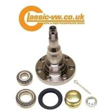 Rear Stub Axle & Bearing Set For Drum Brake 357501117 / 191598625 Mk1 / Mk2 Golf, Jetta, Scirocco