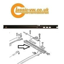 Scirocco Factory Tilt & Slide Sunroof Guide Rail Right  811877352B Santana, Passat, Audi 80