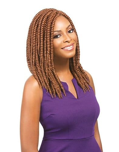 African Collection Jerry Rumba Pre Looped Twists 12 inches Crochet Braids
