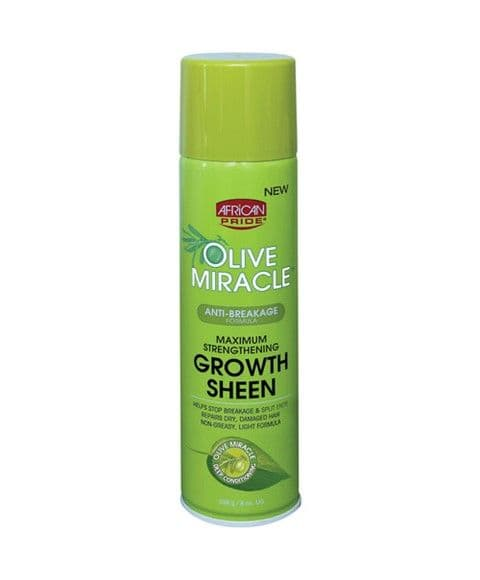 African Pride Olive Miracle Growth Sheen 226g