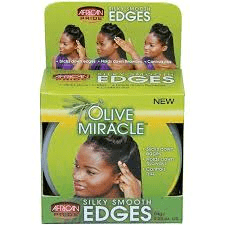 African Pride Olive Miracle Silky Smooth Edge Control Gel