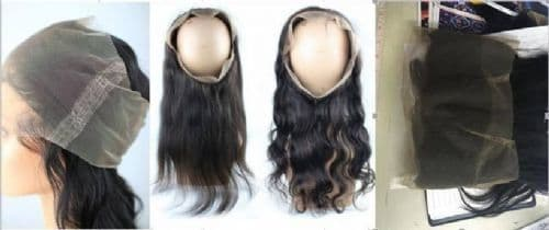 Lace Frontal 360 Degrees - Virgin Hair Gold Grade
