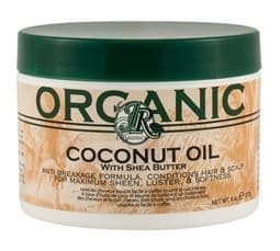 JR Organic Coconut oil with shea butter 8oz