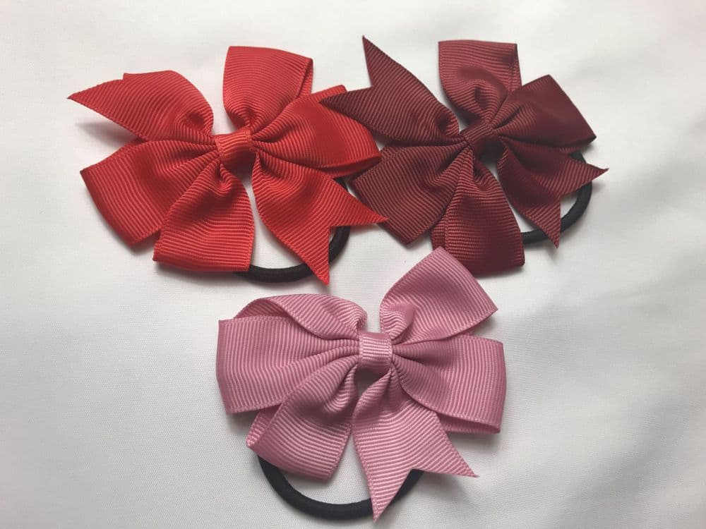 Kids Bow Hair Band -Ribbons