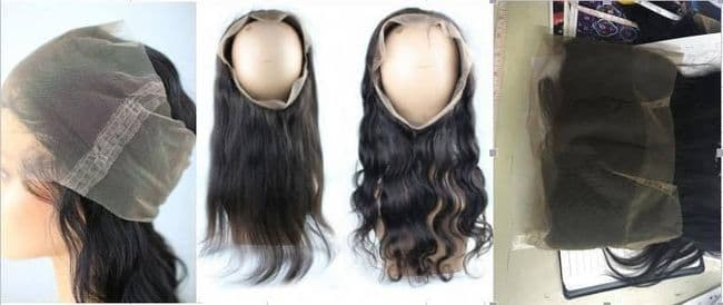 Lace Frontal 360 Degrees - Remy Hair