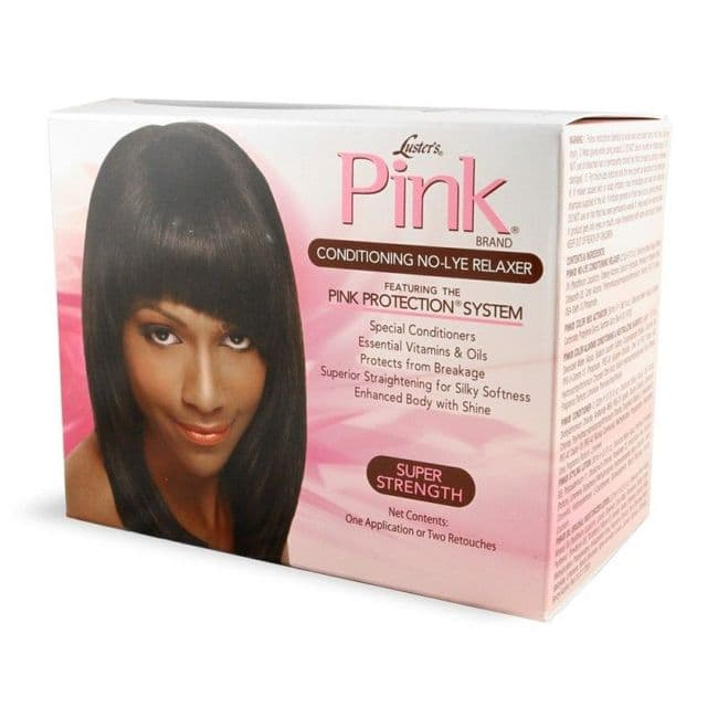 Luster Pink Conditioning  No-Lye Relaxer Super