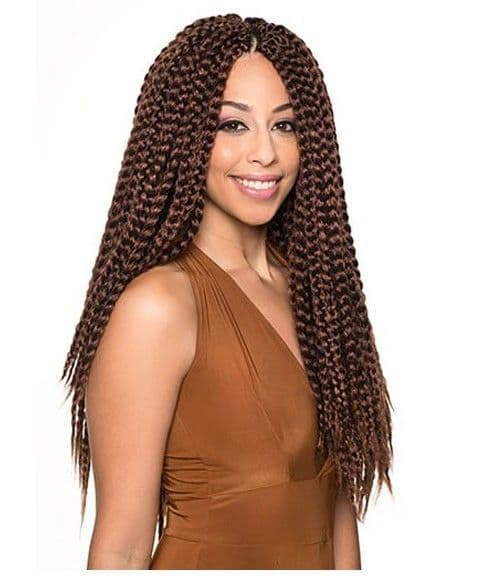 Mambo 2 IN 1 Box braids- Pre-braided Hair 20 INCHES