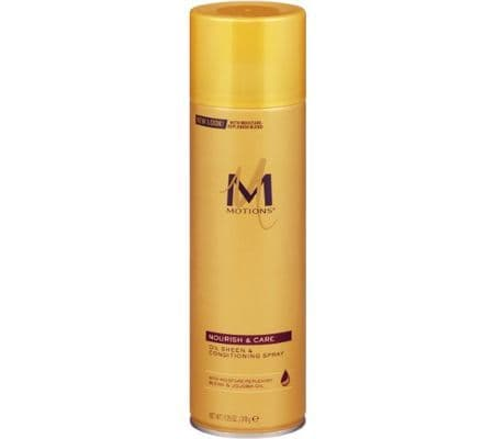 Motions Oil Sheen and Conditioning Hair Spray