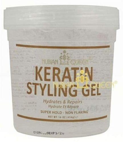 Nubian Queen Keratin Styling Gel 16oz