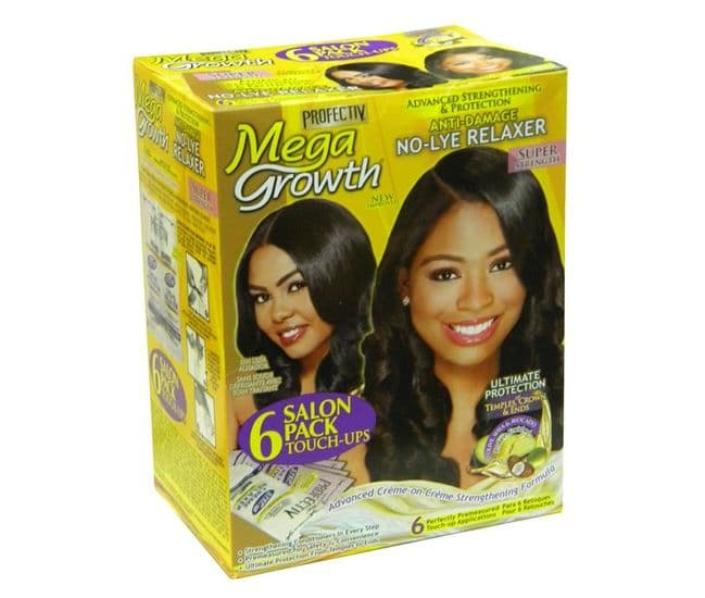 Protective Mega Growth 2 App Relaxer Kit Salon Pack of 6
