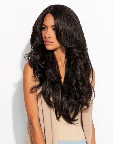Relaxed Blow Out Tongable Synthetic Wig