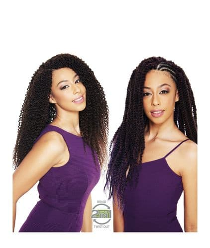 Sleek 2 in 1 Boho Water Braid - Curly Afro Natural Crochet Hair Bulk Braid