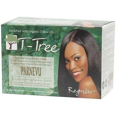 T-Tree No-Lye Conditioning Relaxer System