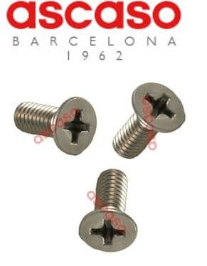 Ascaso group screw set x 3