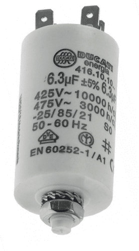 Coffee motor capacitor 6,3 µF